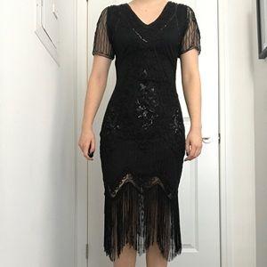 Dresses - Sequin flapper dress!